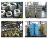 Lisser et le boyau en caoutchouc fait chinois extérieur de tissu