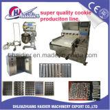 Galletas del equipo de la panadería/cadena de producción de la galleta conjunto entero