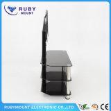 Carrinho da tevê do plasma do diodo emissor de luz do LCD com mobília Integrated da montagem