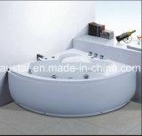 2人(AT-0752)のためのセリウムRoHSが付いている1300mmのセクターのコーナーのマッサージの浴槽の鉱泉