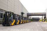 Diesel van de Apparatuur van het Pakhuis van de V.N. van Zhejiang Mini Opheffende Vorkheftruck 3ton