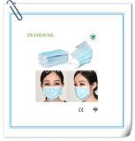 Máscara protetora não tecida descartável do hospital