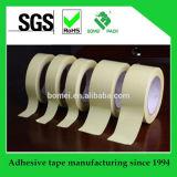 Cinta resistente del Crepe de la cinta adhesiva de la alta temperatura