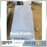 Granito nero a buon mercato naturale della Cina per le mattonelle, formato di Custimized della lastra disponibile
