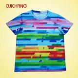 卸し売り高品質の人の印刷のTシャツのカスタム短い袖の高品質の人のTシャツ