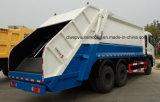 Хлам Dongfeng 6X4 сверхмощный собирает тележку 25 Compactor тонн тележки отброса