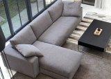 Sofà moderno del tessuto della mobilia del salone di stile giapponese di modo