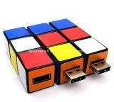 USB magico della plastica di Thumbdrive dell'istantaneo di memoria del USB del cubo