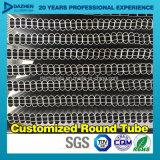 Perfil de alumínio da tubulação redonda oval da câmara de ar com o moinho anodizado terminado