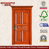 Porte simple en bois principale avec le découpage moderne (GSP2-013)