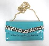 Chain Wallet della nuova di modo di stile dell'unità di elaborazione del leopardo signora