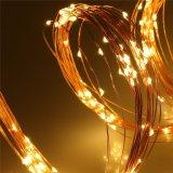 小さく装飾的なLEDの銅線のマルチ枝ストリング適用範囲が広く軽く完全なクリスマスのギフト