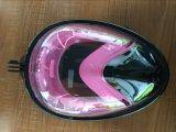 Breite Ansicht-dunsthemmende Tauchens-Schablone mit Gopro Kamera-Montierung Easybreath volles Gesichts-schnorchelndem Set