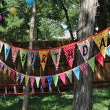Plus défunts indicateurs à la mode personnalisés de rapporteur de tissu de modèle pour la décoration d'anniversaire