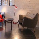 일본식 작은 거실 펠리컨 의자 소파 2 시트 소파