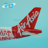 De Livrei van Airasia van de luchtbus A320 1/150 Giften van de Nieuwigheid van het Vliegtuig van 25cm In het groot