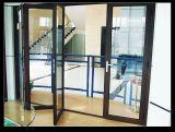 Двери складчатости алюминиевого сплава хорошего качества