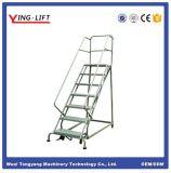 Escadas rolantes de aço industrial de alta qualidade com cinco etapas