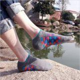 Reiner Baumwolldreidimensionaler Effekt-freie Art-Knöchel-Socke