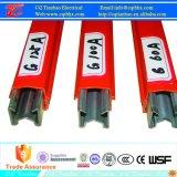 Suministrar acero galvanizado 60A de grúa conductor sistema de barras de potencia Transimision por