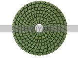 자연적인 돌을%s 5개 단계 삼각형 유형 건조한 유연한 닦는 패드