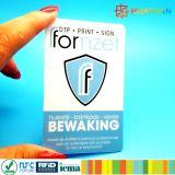 クレジットカードヨーロッパおよびアメリカの熱い販売およびカードを妨げるパスポートデータ保護装置RFID