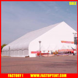 Urved Shape Fireproof Tentf Abricfor Outdoor Event Tents Warehouse Canopy em branco