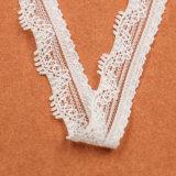Garniture blanche de collet de lacet d'extension tricotée petite par mode