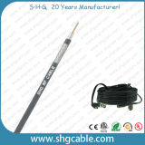Alta qualidade 50 ohms de cabo coaxial de Rg-8X