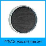 Imán de cerámica bajo redondo del crisol de la ferrita de la alta calidad