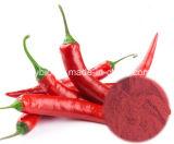 빨강 칠리페퍼 추출 또는 고추 추출, 고추 Annuum Linn 0.6%~2% Capsaicin 음식 착색제