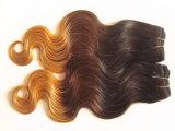 جسم موجة [برزيلين] عذراء ريمي [أمبر] شعر نسيج