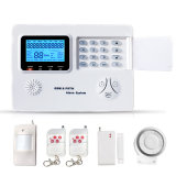 GSM+PSTN het intelligente GSM van het Huis van de Veiligheid Systeem van het Alarm