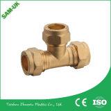 Cooper (bronze) Válvula de parada de cromo para abastecimento de água