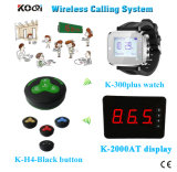 Wireless Quest Number Calling System for Restaurant with Call Button