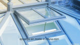 Único indicador de vidro da clarabóia de alumínio moderna