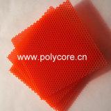 Favo de mel plástico energy-saving 6.0 Painel-Alaranjados