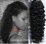 Estensione pre legata dei capelli di fusione di colore di Remy Omber del Virgin