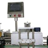 Máquina de etiquetas dobro Fully-Automatic dos lados para o frasco redondo quadrado