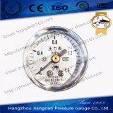 軸方向を用いるミニチュア概要の圧力計
