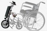 2017 Nuevo kit de 12 pulgadas eléctrico triciclo con motor de 350 W para silla de ruedas