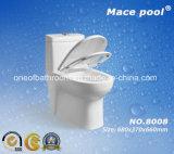 갈고리 철퇴 수영장 상표 Siphonic 세라믹 한 조각 화장실 (8008)