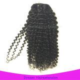 처리되지 않은 사람의 모발 연장 비꼬인 꼬부라진 도매 Virgin 브라질인 머리