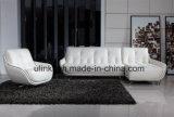 Sofá moderno europeu do couro da sala de visitas (HX-FZ031)