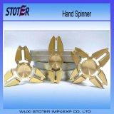 3 het Plastiek van de staaf dekt TriVinger af friemelt Spinner