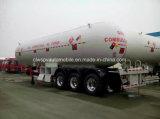 3 Eixos 56 Cbm M3 Gas Tanker 56000 Litros Heavy Duty LPG Tank Trailer
