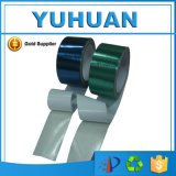 青/緑のポリエチレンの防水シート修理テープ