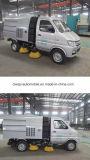 3cbm Vrachtwagen van de Straatveger van de Bestrating de Schoonmakende 3m3