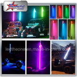 Cool RGB LED Dancing Whips 4FT 5FT 6FT 8FT Signal Whip Lights pour UTV ATV Jeep LED Whips par télécommande