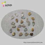 Één Natuurlijke Knoop van de Knoop van Agoya Shell van de Vorm Espeicial van het Gat Ovale